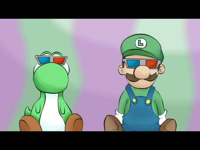 Супер Марио: проблемы Луиджи! 18 (перевод: LUIGI PROBLEMS! by DashieXP)