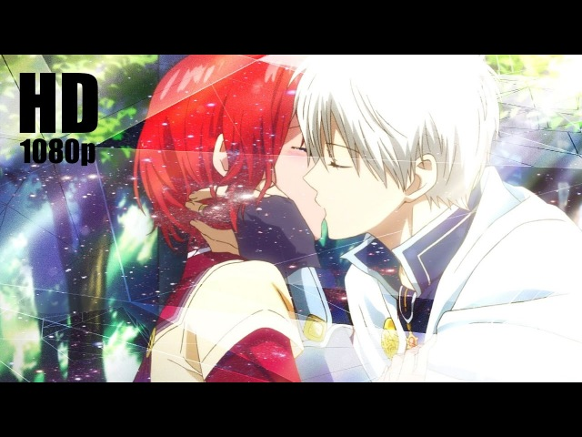 [1080p] Akagami no Shirayuki-hime - The Confession Kiss Scene