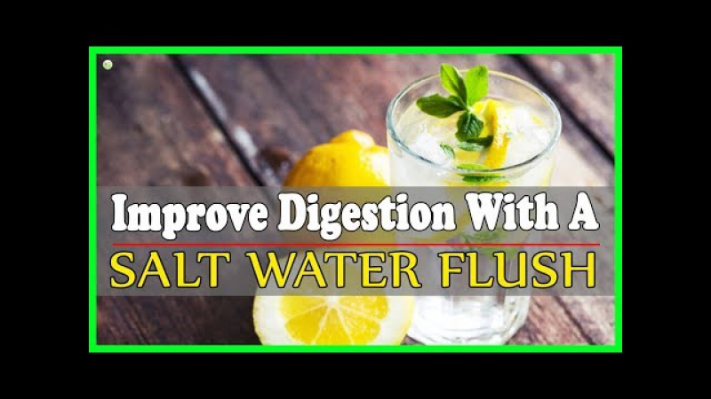 How To Make Salt Water Flush For Master Cleanse | Best Home Remedies