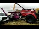 Зерноуборочный комбайн GS-12 PALESSE на уборке кукурузы на зерно