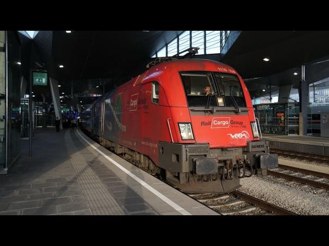 ÖBB 1116 168 ,,Vegatrans am EN 233 | Wien Hbf [4k]