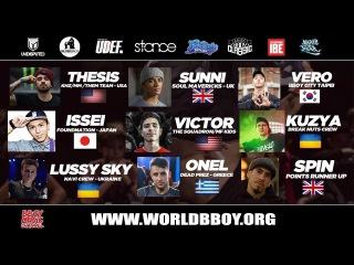 Undisputed World Bboy Masters 2018 Promo Mixtape   Break DJ Kidgang