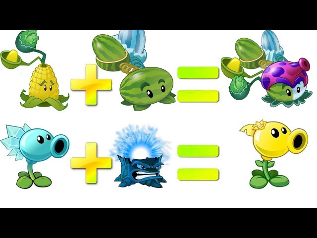 Plants vs Zombies 2 Mod All Pult vs Snow Pea vs Torchwood
