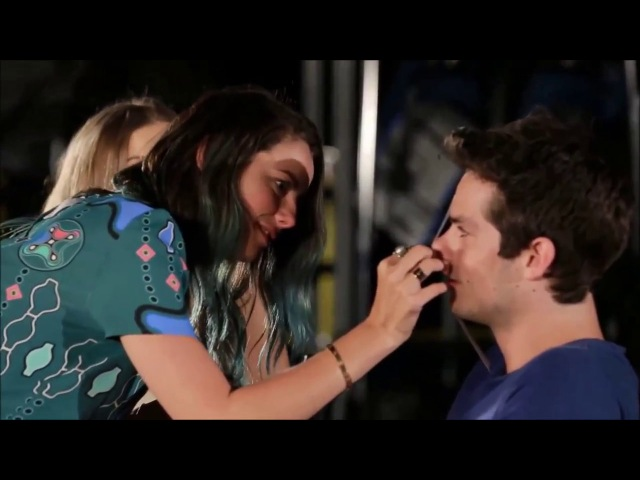 Dylan O'brien Kaya Scodelario Cute Moments