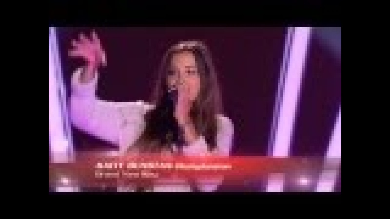 The Voiceсудьи шокированы у девушки самый необычный голос в мире