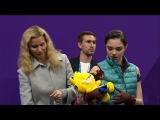 Евгения Медведева  Алина ЗАГИТОВА 23.2.2018 Gold or Silver @ Winter Olympic 2018