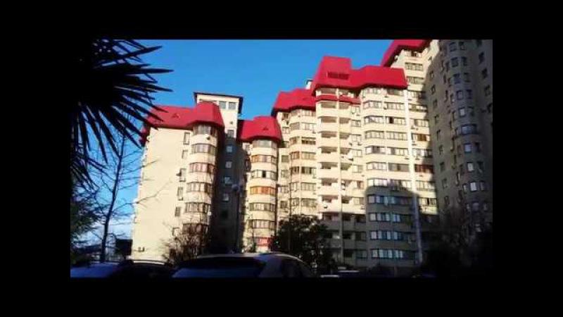 Панинский дом Панинские дома в Сочи Вишневая 29 Вишневая 31 краткий обзор придомовой территории смотреть онлайн без регистрации
