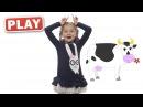 КУКУТИКИ PLAY - Зарядка - Детская песенка со Златой для детей, малышей - Finny Kids Song.