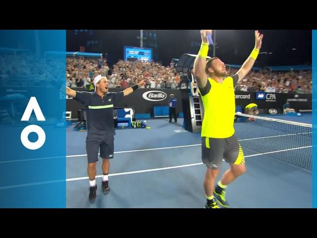 Groth/Hewitt v Rojer/Tecau match highlights (2R) | Australian Open 2018