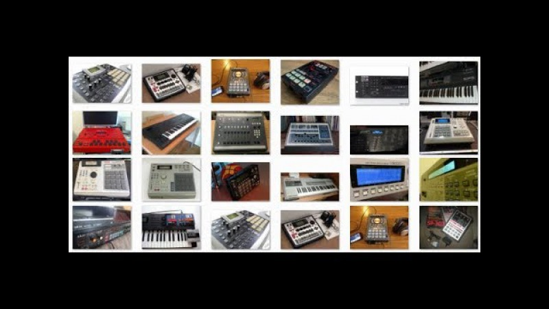 Vintage Samplers (sound test) E-mu, Akai, Roland, Ensoniq ect