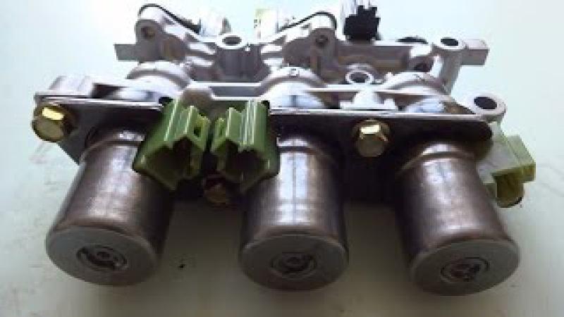 Как проверить электромагнитные клапана АКПП FN4A-EL / 4F27E