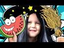 МАЛЕНЬКАЯ ВЕДЬМАЧКА скупила все игрушки в магазине Заколдовала арбуз в желейный Видео для детей