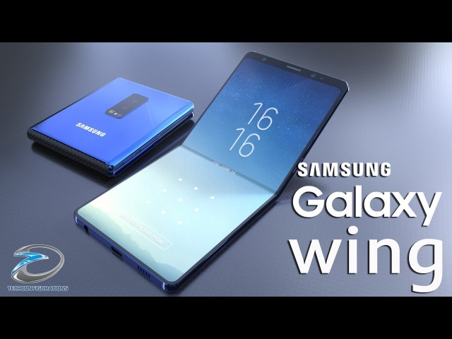 Samsung Galaxy Wing Introduction the 7inch 4K Foldable Smartphone is here !!