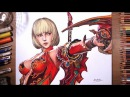 F.O.X (Flame of Xenocide): Lucy - speed drawing | drawholic