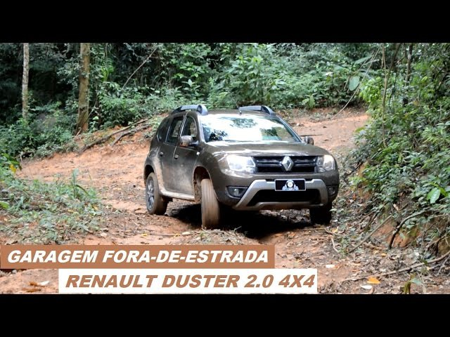 Garagem Fora-de-Estrada: Renault Duster Dynamique 2.0 4WD