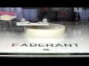 3D-печать с наименьшим качеством, но высокой скоростью на новом 3D-принтере Faberant Cube