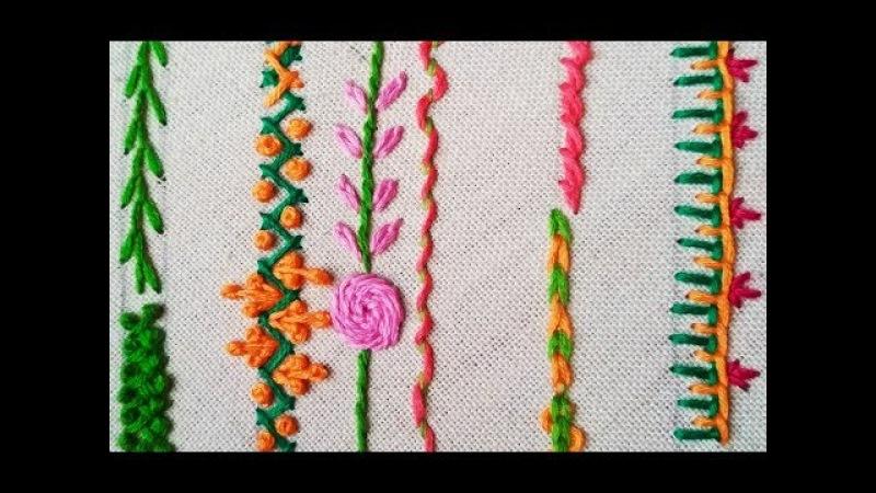 175-Basic stitches for beginners (Hindi Urdu)