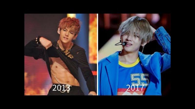 EVOLUTION OF KIM TAEHYUNG AKA V [MUSIC SHOWS] (2013 - 2017)