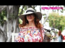 Kate Walsh From Grey's Anatomy Goes Shopping On Melrose Place In West Hollywood 8.2.17