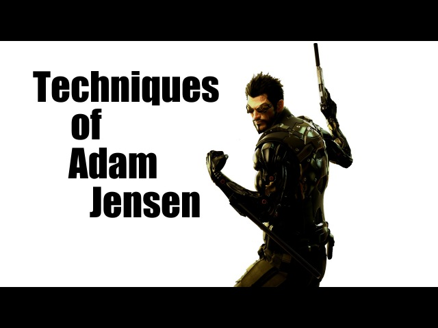 Real Life Deus Ex non lethal Takedowns - Techniques of Adam Jensen by Nerd Martial Arts