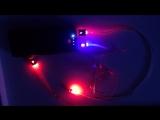 Светящийся кабель micro USB