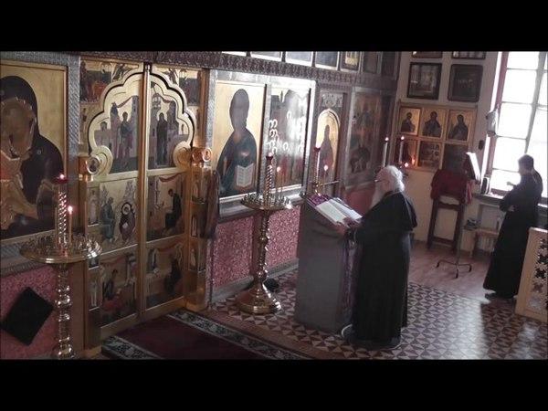 Канон Андрея Критского Читает архиепископ Зосима Старообрядцы Lipoveni Old believers РПСЦ