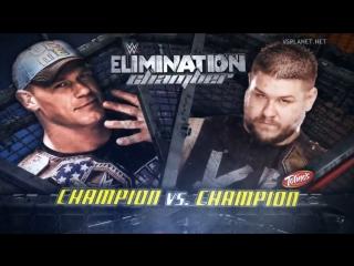 #WH_Present WWE Elimination Chamber Kevin Owens vs John Cena
