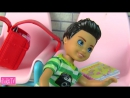 IKuklaTV ❤ Игры в Kуклы со Слоником ❤ ДВОЙКА НА ДВОИХ Помогла с Домашкой Мультик Барби Про Школу Школа с Куклами Барби