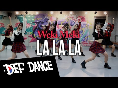 [댄스학원 No.1] Weki Meki(위키미키) - 라라라(LaLaLa) KPOP DANCE COVER 데프수강생 월말평가 방송댄스 안