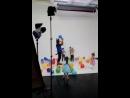 видеосъёмки для праздничного агентства ребята школы моделей ХэппиКидс