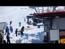 УЖАСНАЯ АВАРИЯ на подъемнике Гудаури в Грузии! Accident in ski lift Gudauri Georgia