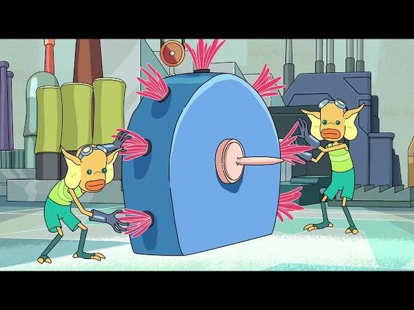 Как делают Плюмбусы? Рик и Морти.