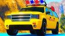 Мультики про машинки для детей Пожарная Машина Скорая помощь Полицейская машина и Человек Паук.