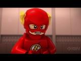 Трейлер LEGO DC Super Heroes - Флэш