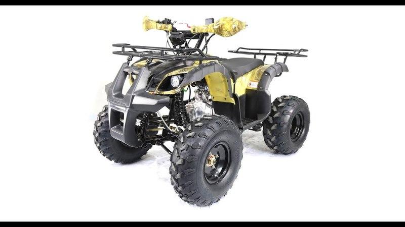 Обзор квадроцикла Motoland ATV125 FOX