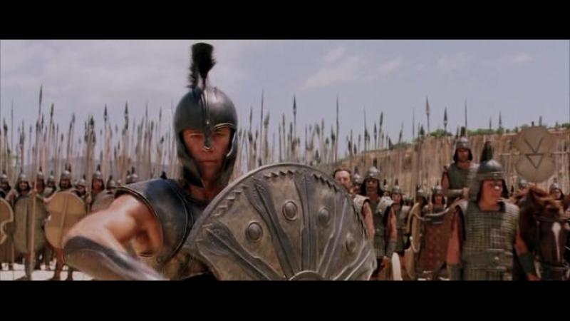 Троя Ахиллес убивает Гиганта