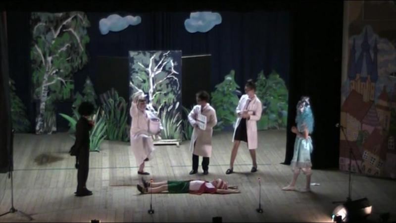 Кружок Порыв, спектакль Буратино