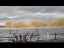 На реке Иртыш решили взорвать лёд. Ну и... ё... взорвали... так, что в домах окна повылетали