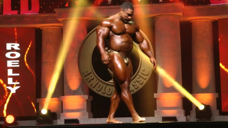 Arnold Classic 2015 Finals - Roelly Winklaar Posing Routine.mp4