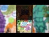 Миша Most раскрасил стену в Губкине