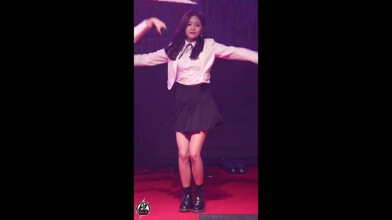 180223 우주소녀 선의 직캠 해피 HAPPY Cosmic Girls XUAN YI Fancam (WJSN,宇宙少女)@부천대학교OT By 천둥
