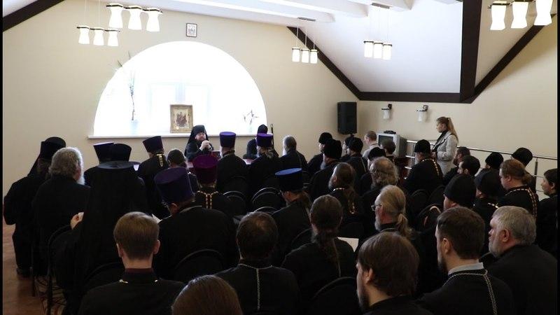 В столице Заволжья прошло собрание духовенства Мелекесской епархии