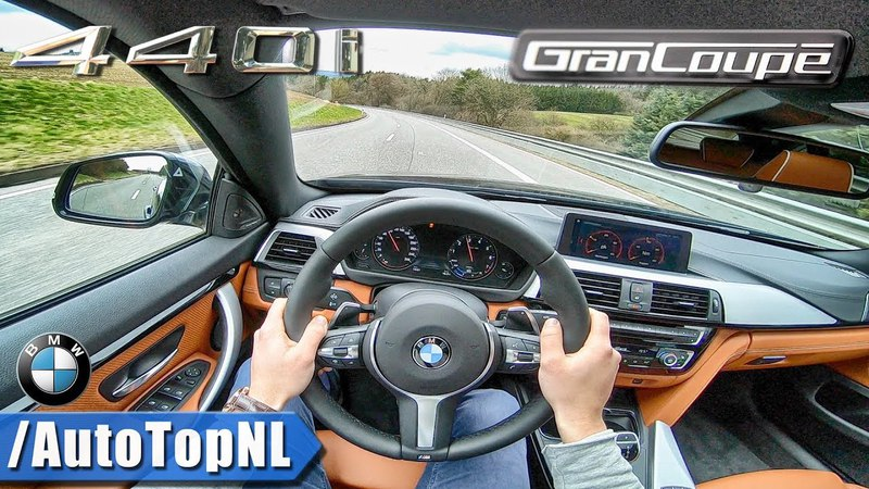 BMW 4 Series 2018 440i Gran Coupe xDrive M Sport POV Test Drive by AutoTopNL