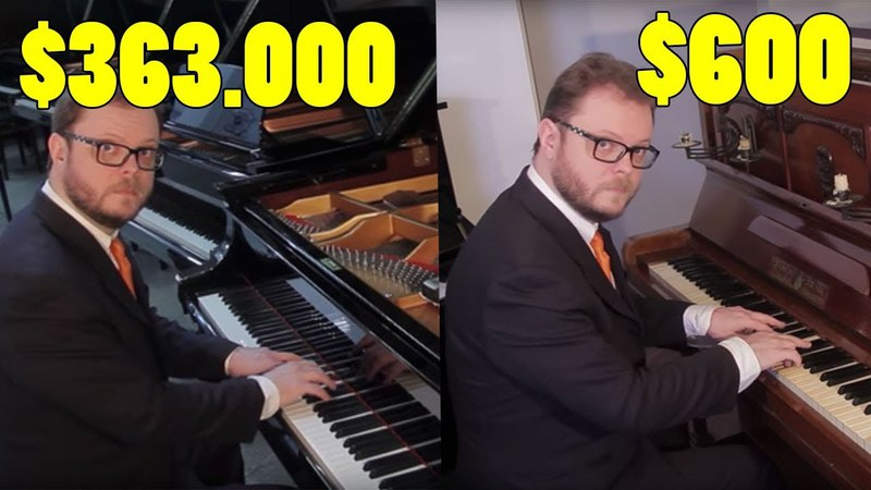 Can You Hear the Difference Between Cheap and Expensive Pianos
