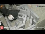 Сборка аккумуляционной печи из камня за 4 минуты (Печь VEGA от NunnaUuni)