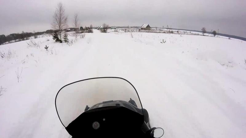 Yamaha Vk540 Зима