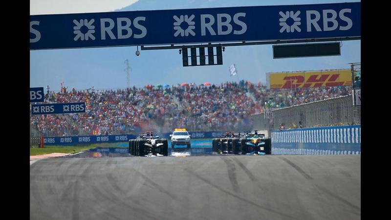 21.08.2005 г. Гран-При Турции,Стамбул. Гонка