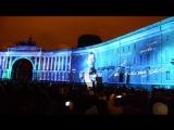 100 лет революции (1917-2017)  - Фестиваль света на Дворцовой площади (4 ноября 2017)