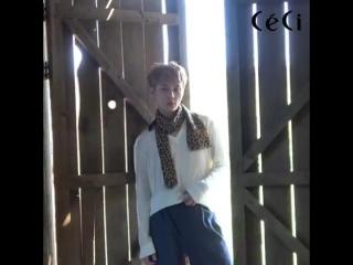 [BTS] 24.09.2017 JunHyung - Ceci Korea Magazine October 2017 Issue Photoshoot Making