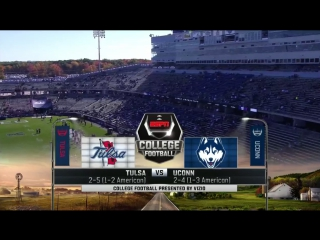 NCAAF 2017 / Week 08 / Tulsa Golden Hurricane - Connecticut Huskies / 21.10.2017 / EN